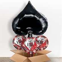 Black Spade Casino Giant Shaped Balloon in a Box Gift