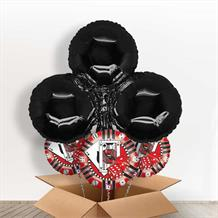 Black Club Casino Giant Shaped Balloon in a Box Gift