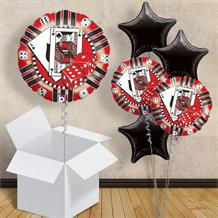 "Casino Card and Dice 18"" Balloon in a Box"