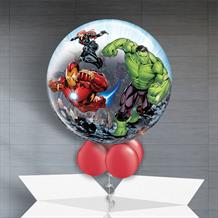 "Marvel Avengers | Black Panther | Ant Man 22"" Bubble Balloon in a Box"