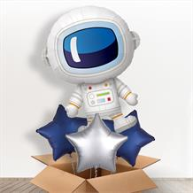 Space Man Astronaut Giant Shaped Balloon in a Box Gift