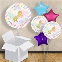 "Unicorn Sparkle 18"" Balloon in a Box"