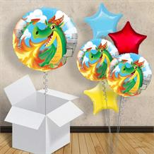 "Dragon Fire 18"" Balloon in a Box"