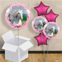 "Heart My Horse 18"" Balloon in a Box"