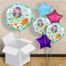 "Mermaid Friends 18"" Balloon in a Box"