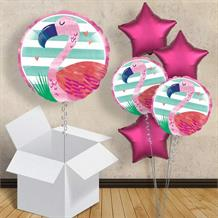 "Flamingo 18"" Balloon in a Box"