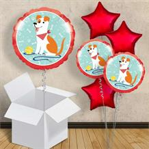 "Dog Party 18"" Balloon in a Box"