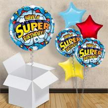 "Have a Superhero Birthday 18"" Balloon in a Box"