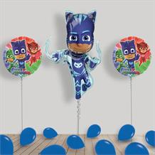Inflated PJ Masks Catboy Helium Balloon Package in a Box