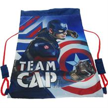 Captain America Drawstring | Trainer | School Gym Bag