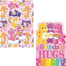 Care Bears Giftwrap, Gift Tags and Birthday Card