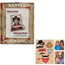 Rodeo Western Party Picture Frame & Photo Props