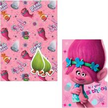 Trolls Giftwrap, Gift Tags and Birthday Card
