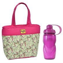 Walls Ice Cream Twister Insulated Lunch Tote Cooler Bag and Aqua Freeze Bottle Kit