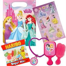 Disney Princess Filled Party Bag Kit | Favours | Stickers | Sweets