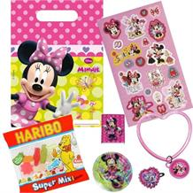 Minnie Mouse Bow-Tique Filled Party Bag Kit | Favours | Stickers | Sweets