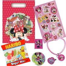Minnie Mouse Jam Packed Filled Party Bag Kit | Favours | Stickers | Sweets