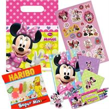 Minnie Mouse Bow-Tique Party Bag Kit | Stationery | Stickers | Sweets