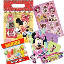 Minnie Mouse Cafe Party Bag Kit | Stationery | Stickers | Sweets