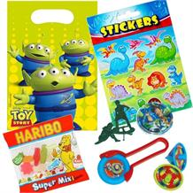 Toy Story Filled Party Bag Kit | Favours | Stickers | Sweets