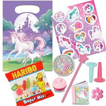 Unicorn Fantasy Filled Party Bag Kit | Favours | Stickers | Sweets