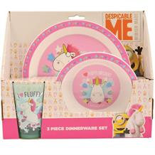 Unicorn PP Mealtime Tumbler | Bowl | Plate Set