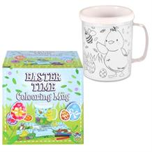 Colour Your Own Easter Mug | Cup