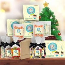 The Retro | Classic Sweets Large Luxury | Sharing Christmas Hamper Gift Box by Timmy's Treats