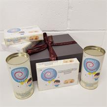 The Biscuit Selection Medium Christmas Hamper Gift Box by Timmy's Treats