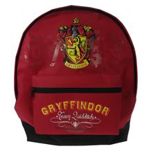 Harry Potter Gryffindor Front Zip Backpack | Rucksack | School Bag