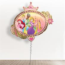 "Inflated Disney Princesses | Crown | Hearts Giant 34"" Foil 