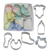 New Arrival Baby Shower Cookie Cutter Set