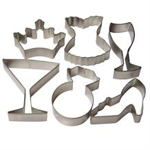 Hen Party Shaped Cookie Cutter Set