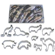 Zoo Animals Cookie Cutter Set