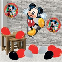 Inflated Disney Mickey Mouse Helium Balloon Package in a Box