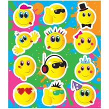 Emoji Smiley Face Party Bag Sticker Sheet Favour | Fillers