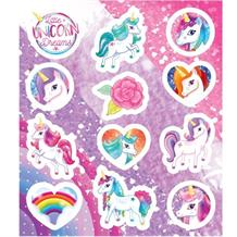 Unicorn Party Bag Sticker Sheet Favour | Fillers