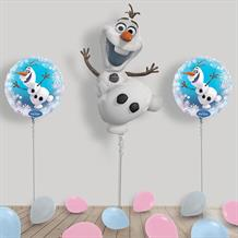 Inflated Disney Frozen Olaf Helium Balloon Package in a Box