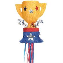 Trophy Pull Pinata Party Game | Decoration