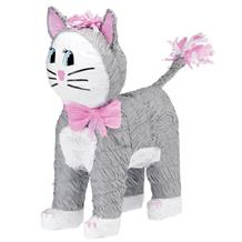 Grey Cat Pinata Party Game | Decoration