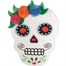 Halloween Day of the Dead Sugar Skull Party Pinata | Decoration