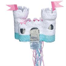 Castle Pull Pinata Party Game | Decoration