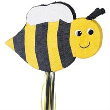 Bumble Bee Pull Pinata Party Game | Decoration