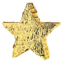 Gold Foil Star Pinata Party Game | Decoration