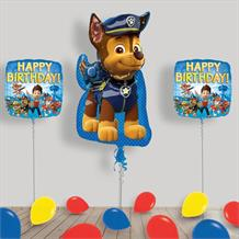 Inflated Paw Patrol Helium Balloon Package in a Box