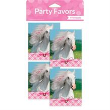 Horse Party Party Bag Favour Notepads with Stickers