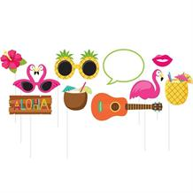 Luau | Flamingo | Aloha Summer Photo Booth Party Props