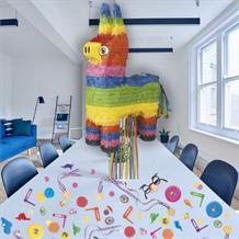Donkey Burro Pull Pinata Party Kit with Sweets, Favours and Confetti