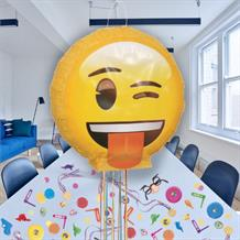 3D Emoji Pull Pinata Party Kit with Sweets, Favours and Confetti