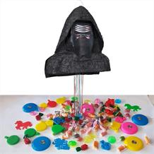 Star Wars Kylo Ren Pull Pinata Party Kit with Sweets, Favours and Confetti
